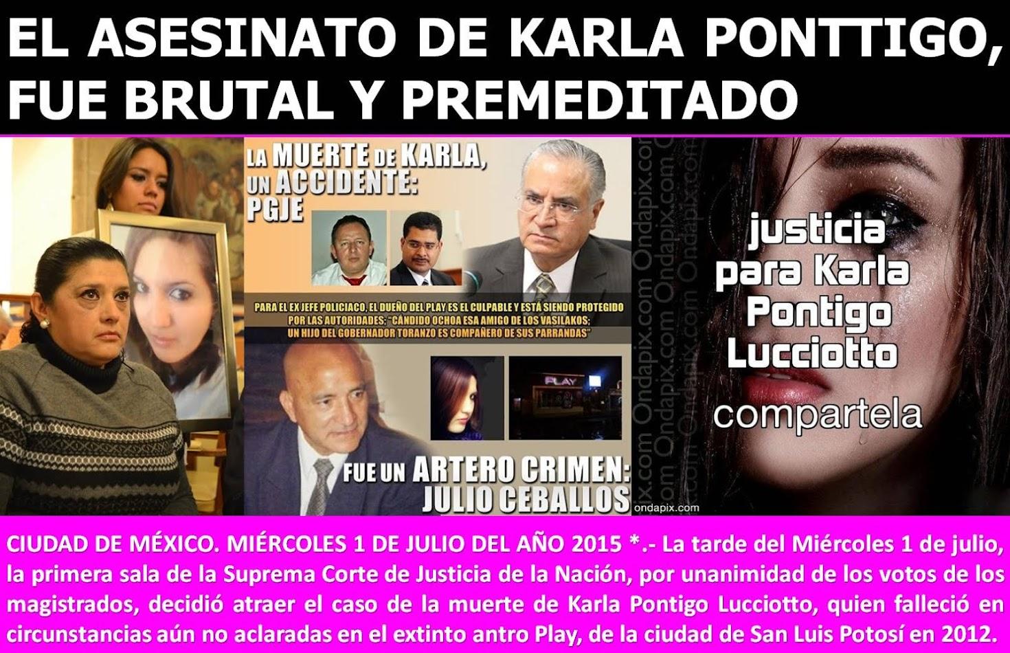 ¡JUSTICIA, JUSTICIA, JUSTICIA!