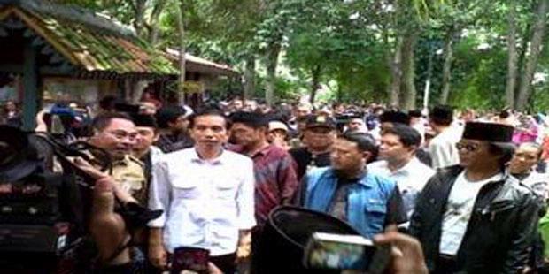 Masyarakat Heboh, Jokowi Dikira Maling