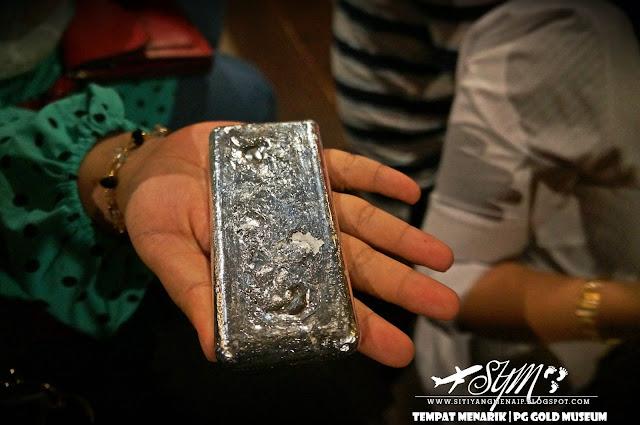 Jongkong Perak, Proses Membuat Emas, PG Gold Museum, Siti Yang Menaip, Tempat Menarik Di Penang, Tempat Menarik Di Pulau Pinang, Muzium Emas, Gold Museum, Gold Maine