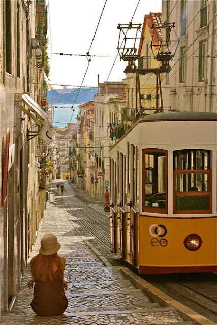 Streets of Libson, Portugal