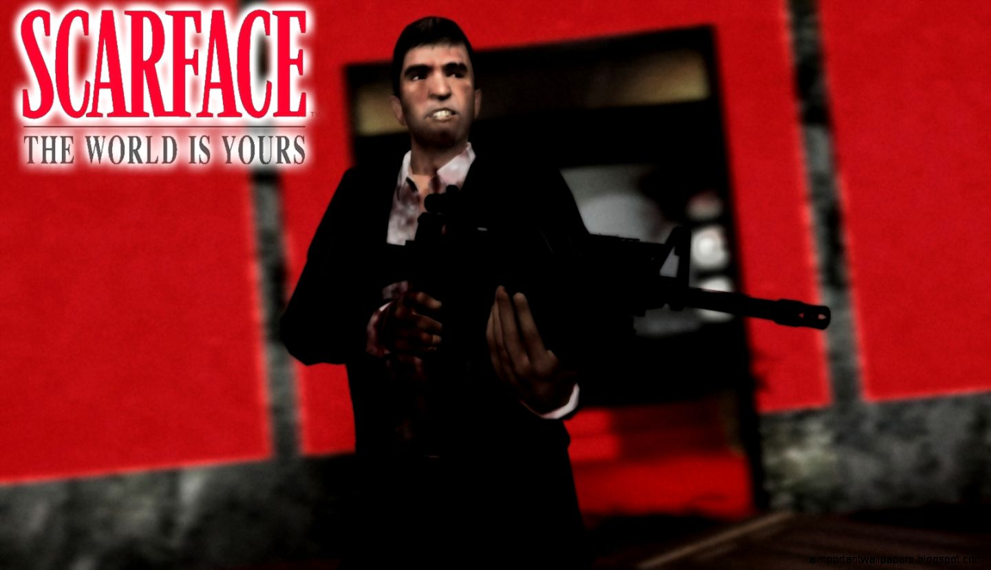 The World Is Yours Wallpaper Scarface