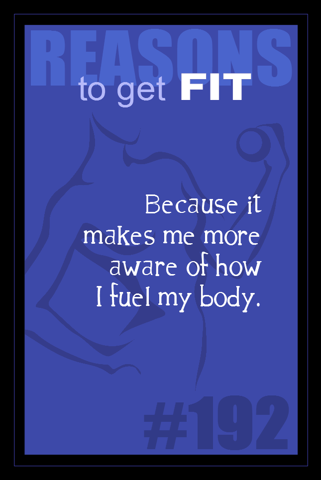 365 Reasons to Get Fit #192