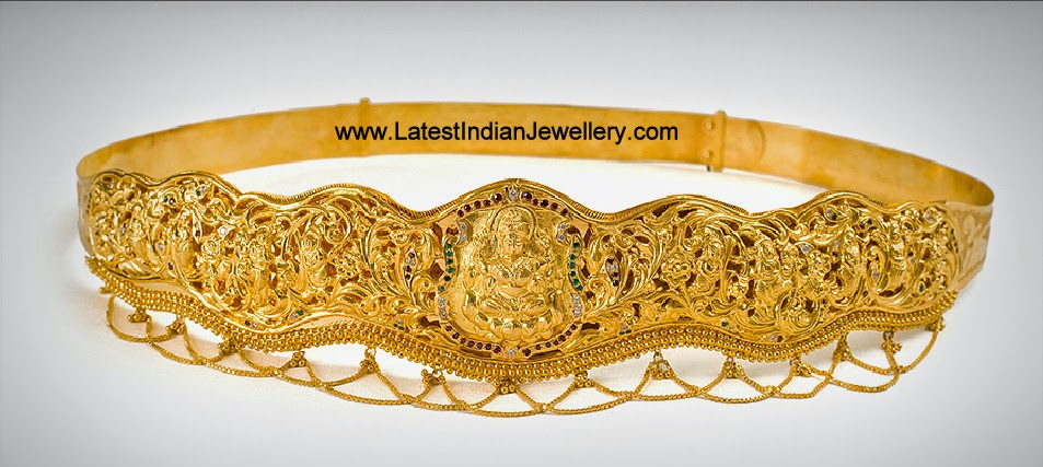 Pure Gold Vaddanam Designs