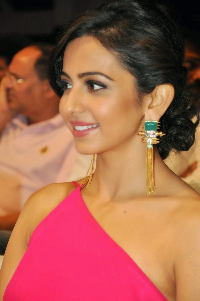 Rakul Preet Singh Hot images At Pandaga Chesko Audio Lunch