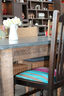 Upcycled crate table