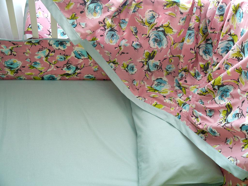 детское постельное с балдахином