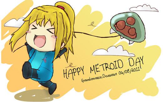 Happy Metroid Day por groundzeroace