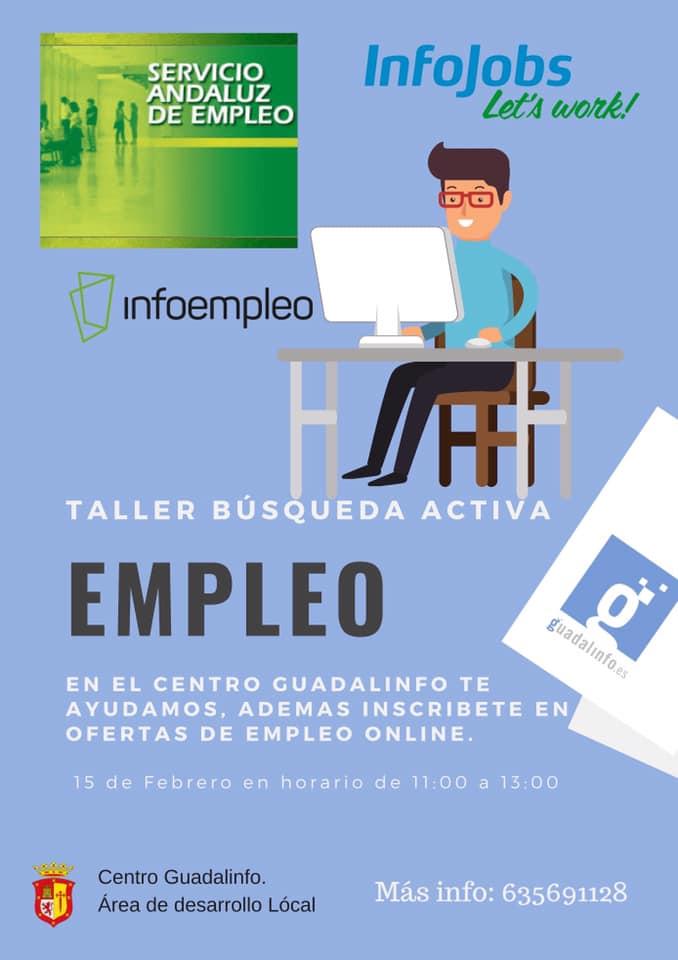 TALLER DE BÚSQUEDA ACTIVA DE EMPLEO