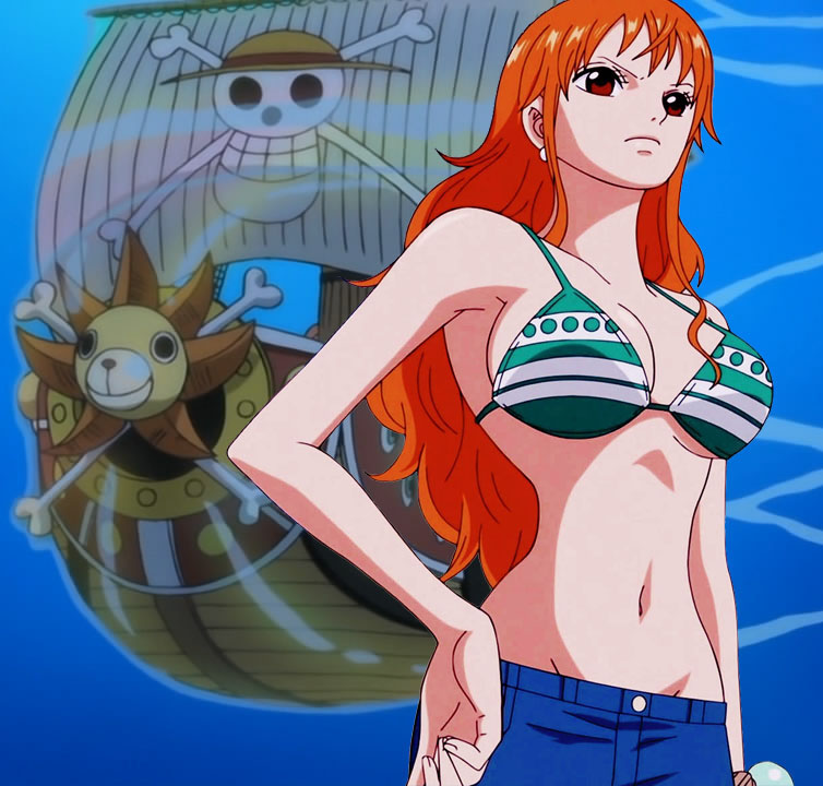 nami of one piece bikini photos 04