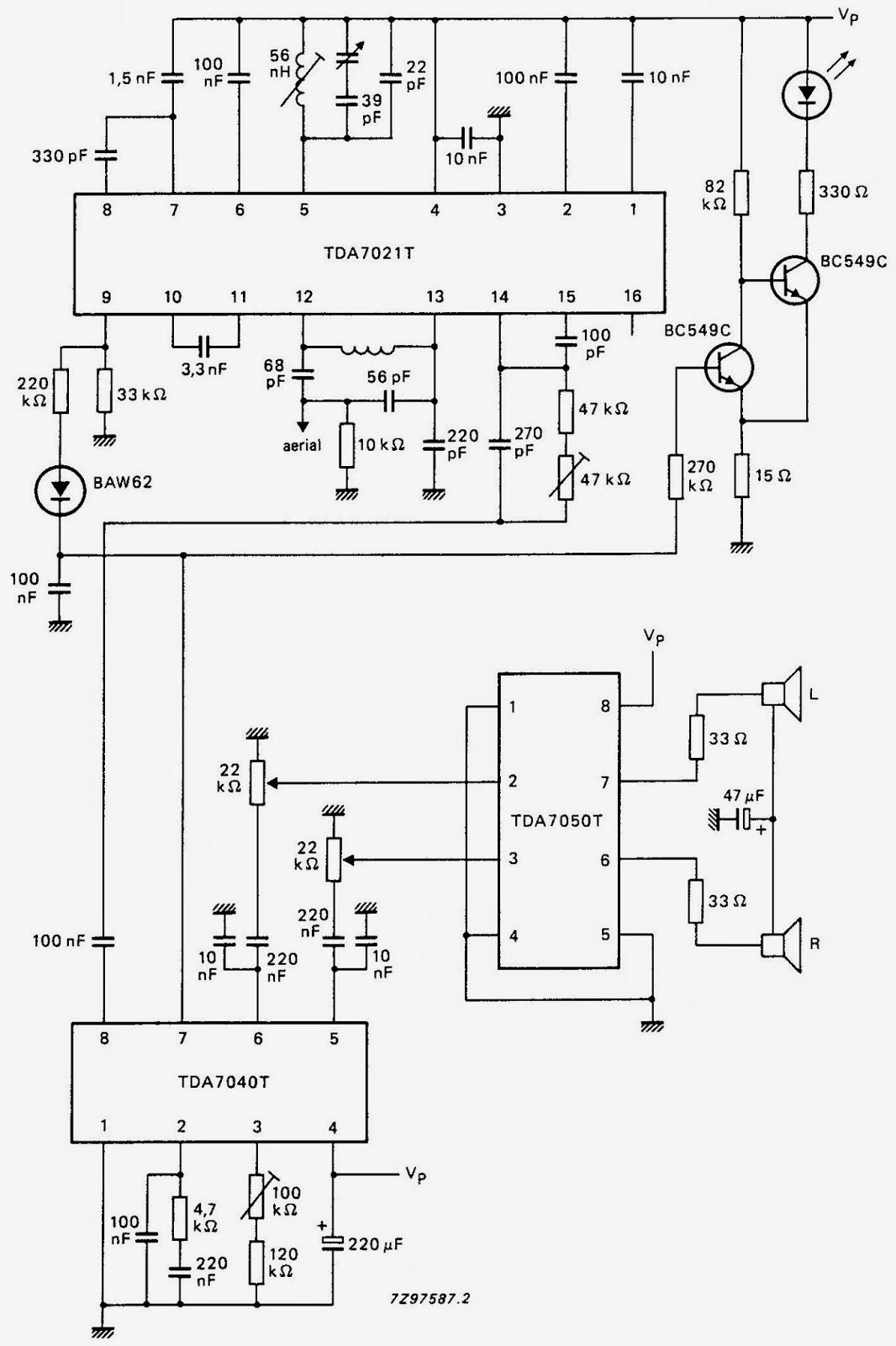 rangkaian receiver fm stereo