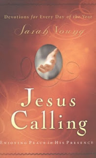 Jesus+Calling On Reinventing Yourself: Books that are reinventing me