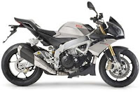 Aprilia Tuono V4 R wing grey colors