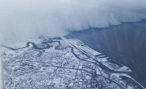 nieve en Buffalo