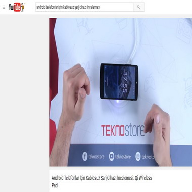 youtube com - android telefonlar için kablosuz şarj cihazı incelemesi