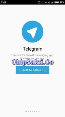 Cara Isi Pulsa Murah Melalui Telegram di Server Chip Sakti Pulsa Murah Payment PPOB Lengkap