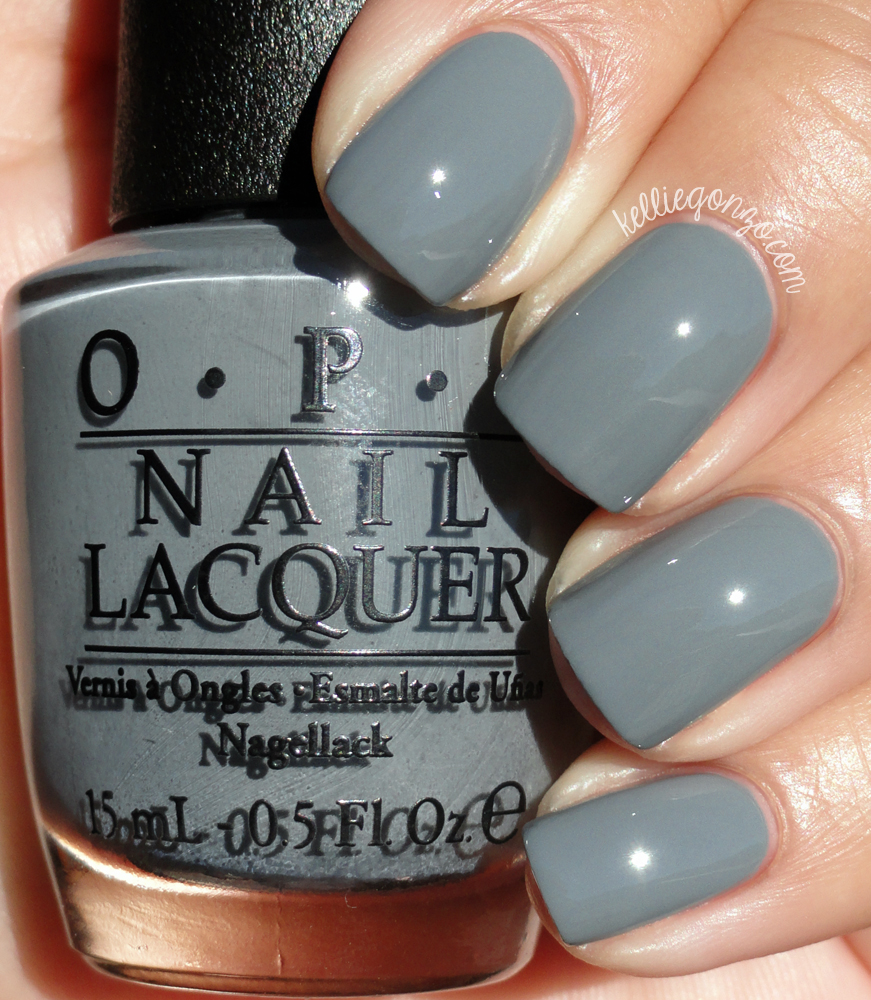 KellieGonzo: OPI Fifty Shades of Grey Collection Swatches & Review