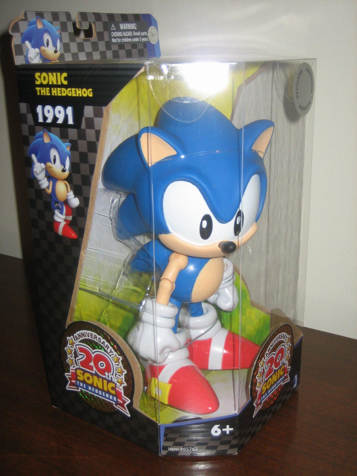 Target Sonic Toys : Sega memories quot classic sonic best figure ever