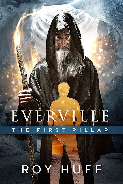 http://www.amazon.com/Everville-First-Pillar-Roy-Huff/dp/0988936402/ref=sr_1_1?ie=UTF8&qid=1374173616&sr=8-1&keywords=roy+huff