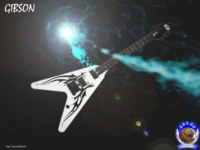 Guitar Gibson Wallpaper