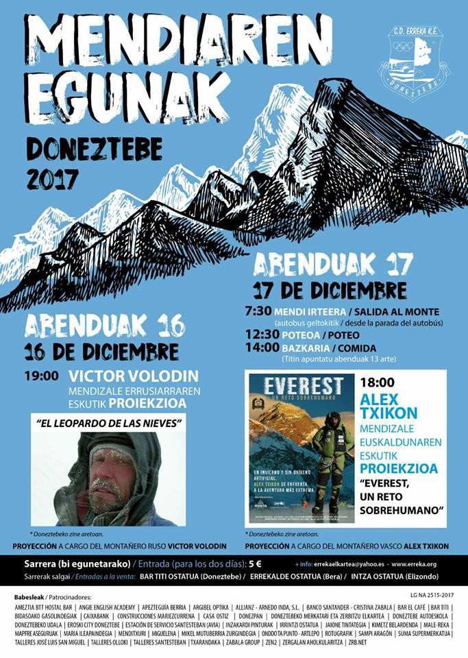 Mendiaren Egunak/ Días de la montaña
