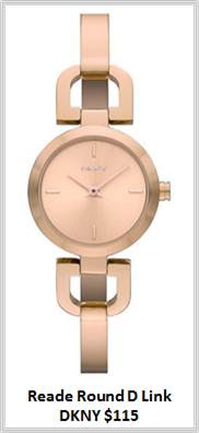Sydney Fashion Hunter - Timeless Timepieces - DKNY Reade Round D Link Watch