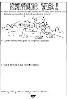 Atividades de Matemática para 3º, 4º e 5º Anos
