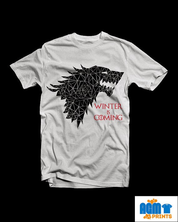 House Stark t-shirt from AGM Prints
