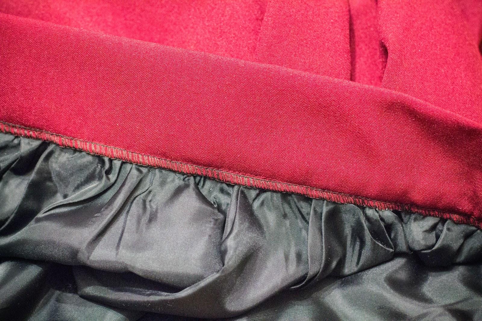 Юбка с бантовыми складками без выкройки Шей со мной 70