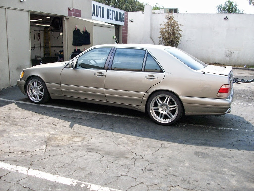 Mercedes-benz w140 s600 w12 - 007