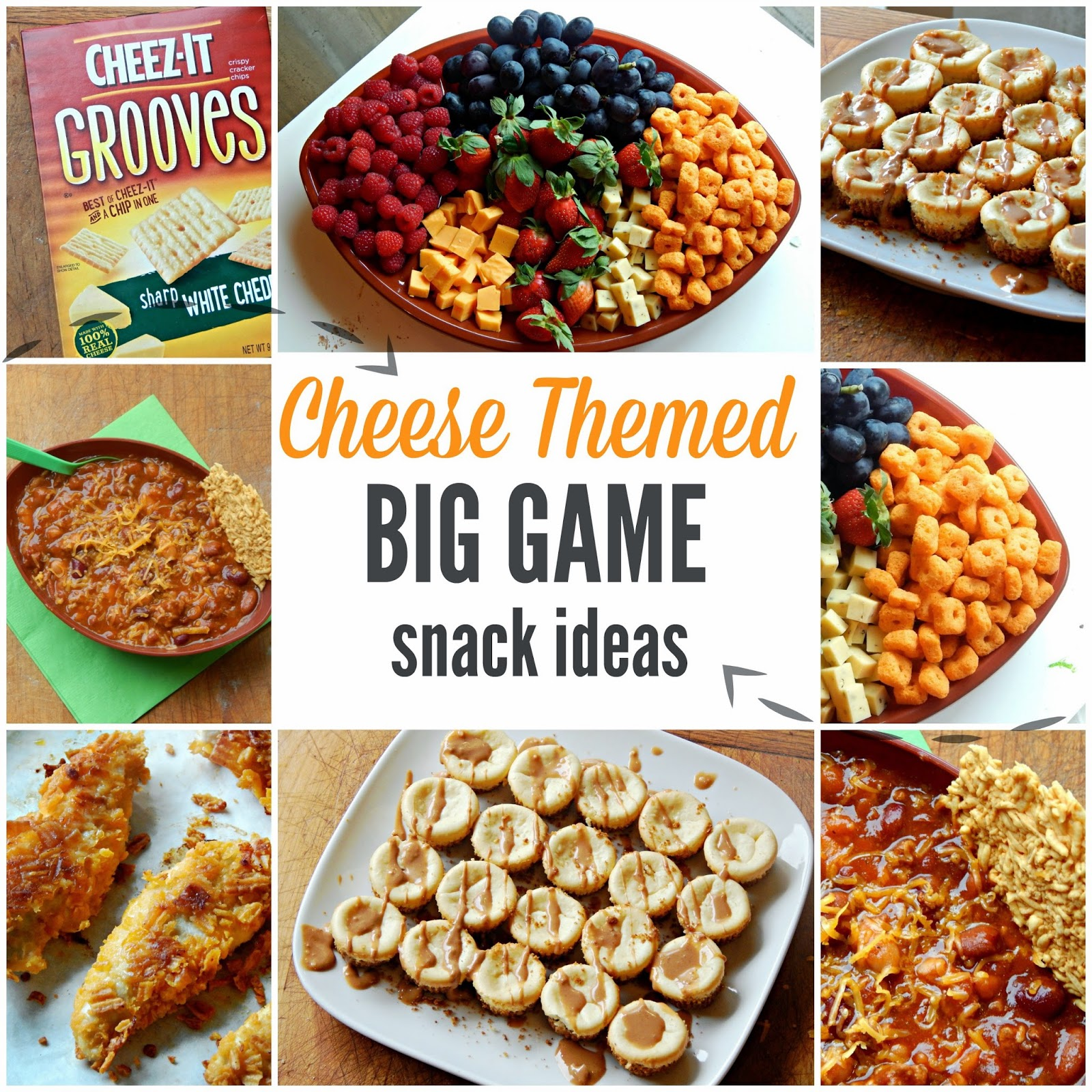 Cheese Themed Big Game Snack Ideas #BigGameSnacks #ad @walmart