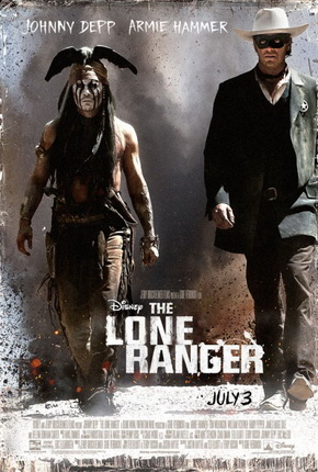 The Lone Ranger 2013 Poster