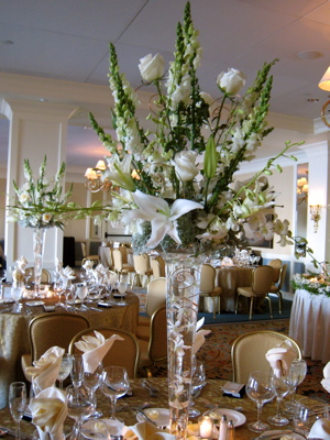 Wedding Arrangements For Tables