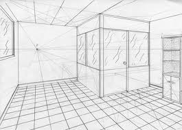 Arco de plastica de 2 de eso dibuja una habitaci n en perspectiva c nica frontal - Habitacion en perspectiva conica ...