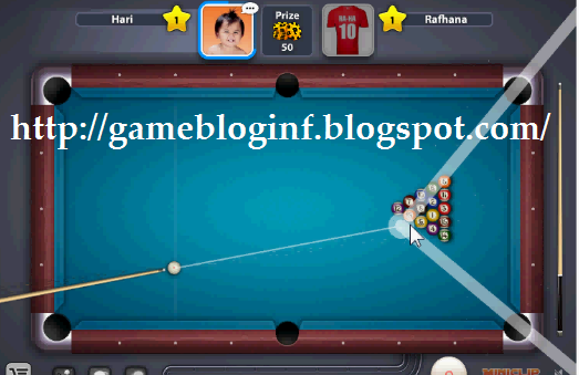 Ball Pool Cheat Target Line Hack is functioning to make the target