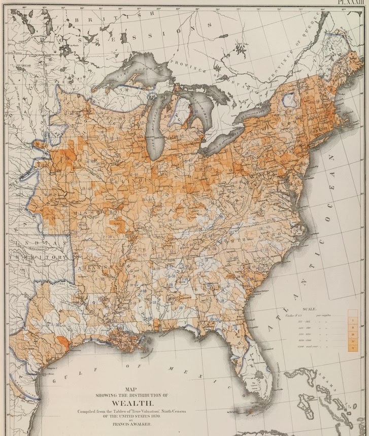 bensozia Wealth across the US in 1870