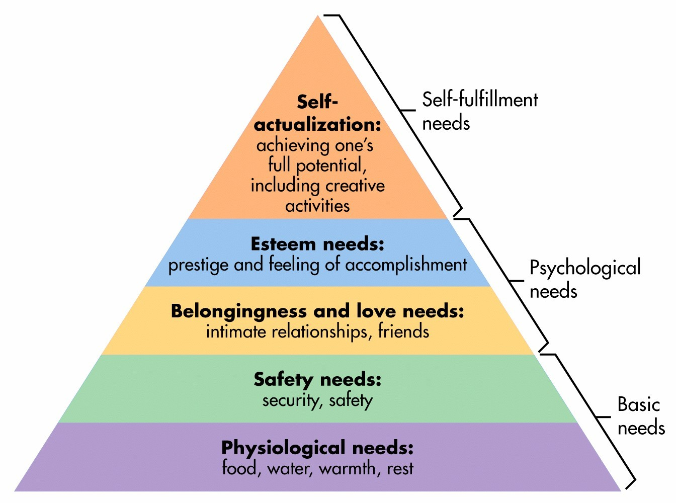 What is maslow's hierarchy of human needs essay