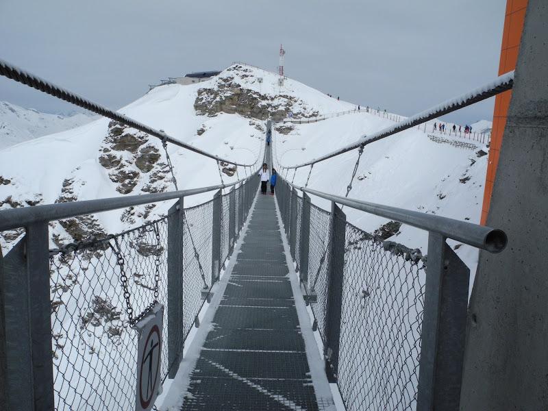 Suspension bridge, Stübnerkogel, Bad Gastein title=