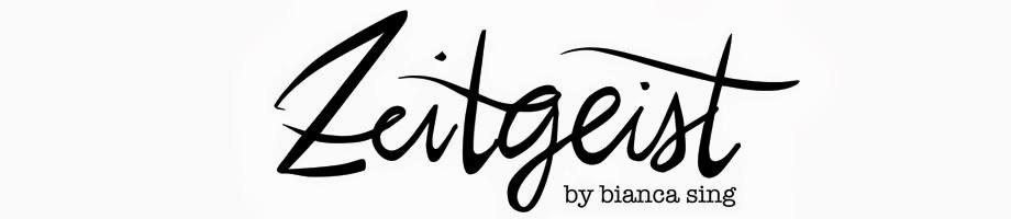 Zeitgeist by Bianca Sing