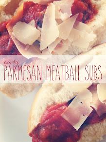 Parmesan Meatball Subs