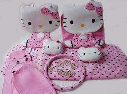 Car Set Hello Kitty