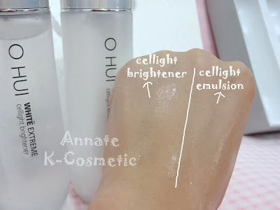 ohui+white+extreme+cellight+brightener+vs+emulsion+review+annateshop ohui white extreme