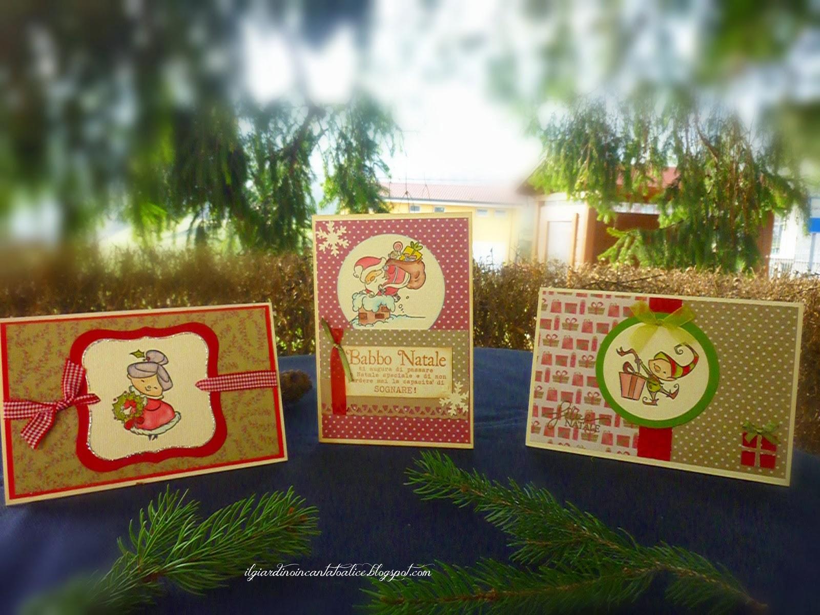 Il giardino incantato di alice christmas cards primo round - Il giardino di alice ...