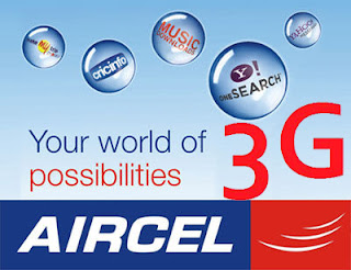 Aircel Free 1GB 3G Data per month for 3 Months
