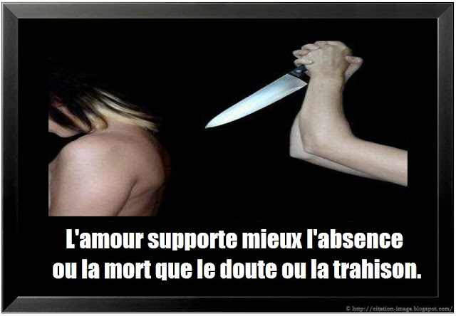 citation trahison en image