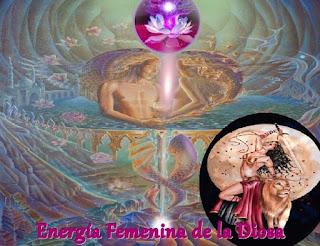 La Energía femenina dela Diosa se está elevando como un Ave Fénix desde las cenizas del ayer, para devolver la pureza del Ser.