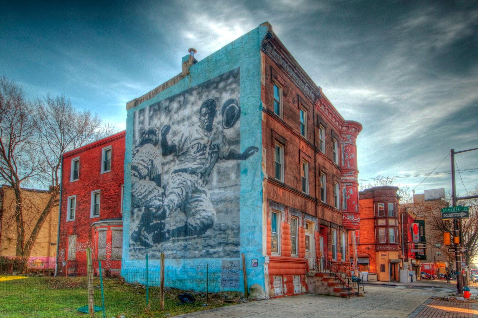 Josh friedman photography beautiful walls in the inner for Dr j mural philadelphia