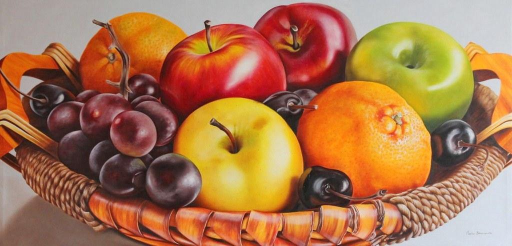 Im genes arte pinturas bodegones con frutas frescas for Pinturas bodegones modernos