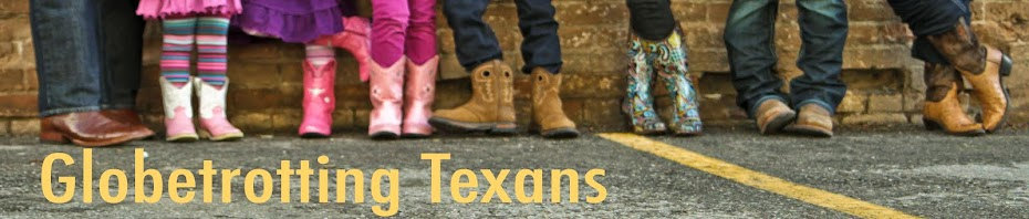 Globetrotting Texans