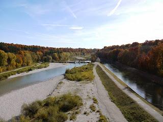 Isartal südlich der Großhesseloher Brücke