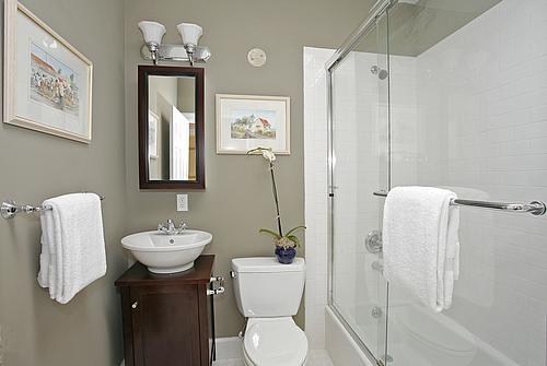 Coisas da Kátia Banheiro com decoração simples e barata -> Banheiros Simples Fotos